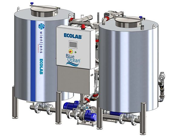 Blue Ocean water filter equipment for textile laundries in the industrial laundry industry